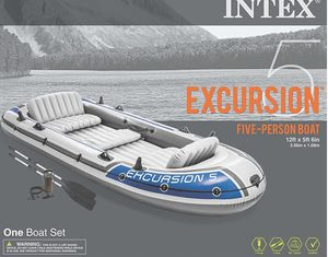 Intex excursion 5 - inflatable boat for Sale in Dallas, TX