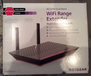 NETGEAR - AC1200 Dual-Band Wireless-AC Range Extender for Sale in Washington, DC