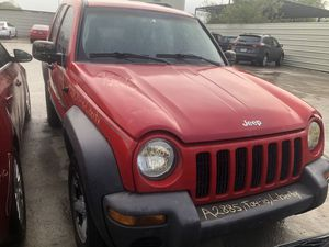 2004 JEEP LIBERTY PARTS for Sale in Houston, TX