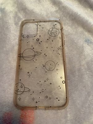 iphone 11 space clear case for Sale in St. Louis, MO