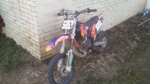 2012 ktm 65 runs good 2 stroke dirt bike ready to ride for Sale in Boonsboro, MD