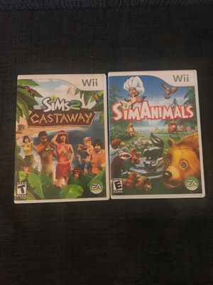 Sims wii games for Sale in Delray Beach, FL