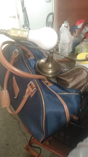 Antique lawyers chair table lamp for Sale in Tempe, AZ