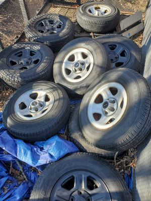 Jeep wheels and tires for Sale in Damascus, MD