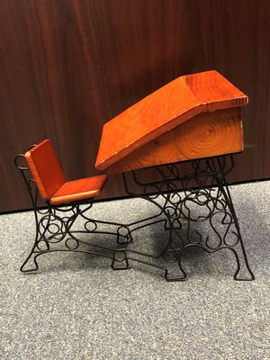 Doll school desk (antique) for Sale in Durham, NC