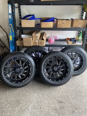 4 rims impact off road for Sale in Tampa, FL