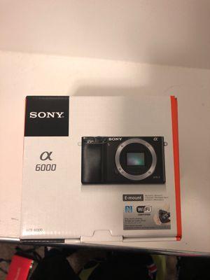 Sony camera a6000 brand new for Sale in South Jordan, UT