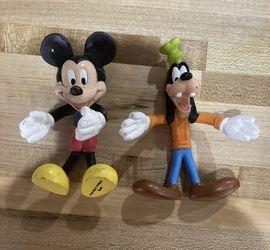 Walt Disney World Resort Bendy Figures Mickey & Goofy Souvenir Toy for Sale in Vacaville,  CA