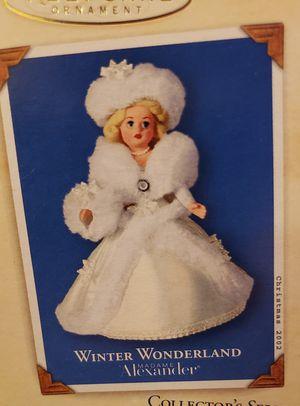 HALLMARK KEEPSAKE, ORNAMENT,WINTER WONDERLAND for Sale in Port Orchard, WA