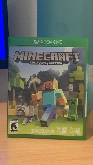 Minecraft (Xbox One edition) for Sale in San Francisco, CA
