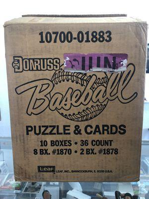 1987 Donruss Baseball Factory Boxes for Sale in Santa Ana, CA