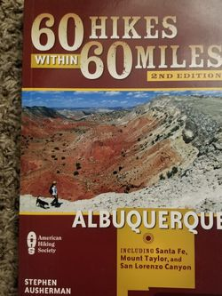 Book - ABQ Hiking Trails for Sale in Albuquerque,  NM