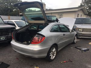 2003 Mercedes Benz c class parts only / parts only for Sale in Tampa, FL