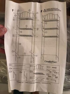 Brand New Bathroom toilet storage rack for Sale in Miami, FL