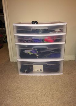 4 Drawer Plastic storage unit for Sale in Norwalk,  CT