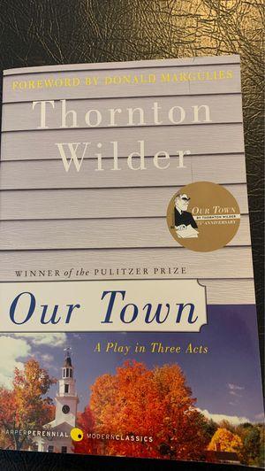 Thornton Wilder: Our Town for Sale in Yancey Mills, VA