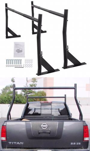 New in box universal width adjustable cargo ladder truck rack adjustable 650 lbs capacity for Sale in Los Angeles, CA