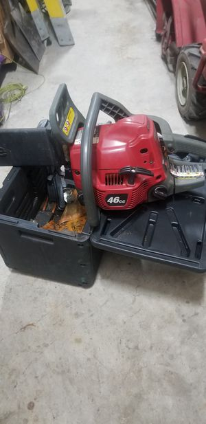 """Homelight 46cc 20""""bar chainsaw for Sale in Rockwall, TX"""
