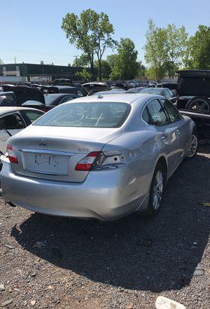 Selling parts for a 2012 Silver Infiniti M37 STK# 1234 for Sale in Warren, MI
