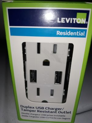 USB outlet connector new $10 for Sale in Houston, TX