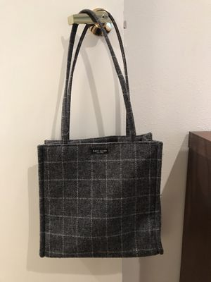 3d2389e10fe7e Vintage Kate spade flannel purse for Sale in Seattle