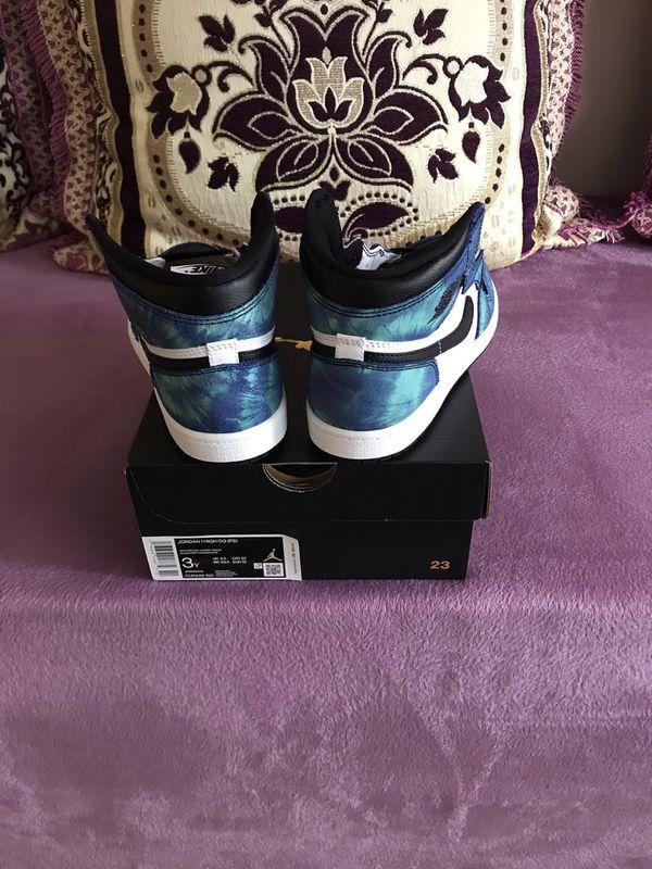 Retro Jordan 1 tie dye
