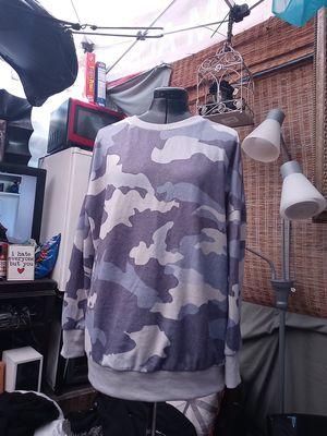 Army print sweatshirt size small runs big for Sale in Los Angeles, CA