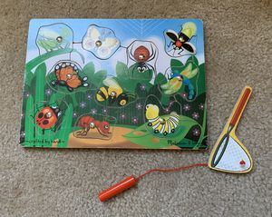 Melissa and Doug Bug Catching Wooden Puzzle Game for Sale in Temecula, CA