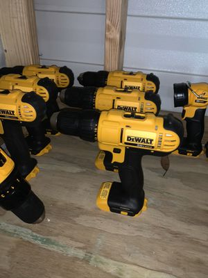 Brand new dewalt 1/2 drill drivers no batteries no charger firm price 40 each for Sale in Plant City, FL