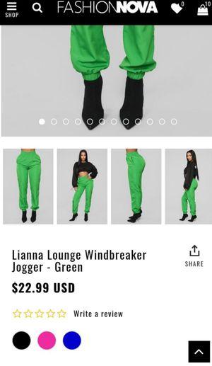Fashion Nova Jogger for Sale in Dallas, TX