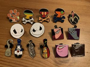 Disney Trading Pins - Villain set for Sale in Brea, CA