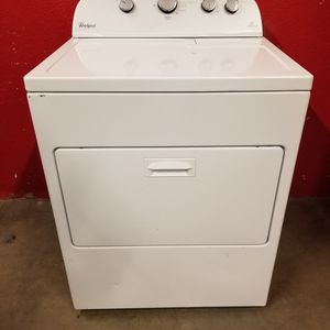 Whirlpool electric Dryer Good Working Condition For $129 for Sale in Wheat Ridge, CO