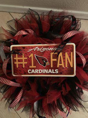 Arizona Cardinals Wreath for Sale in Avondale, AZ