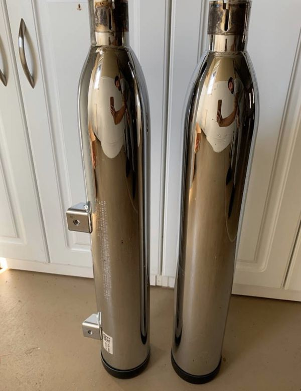Indian Scout motorcycle stock pipes (NEW)