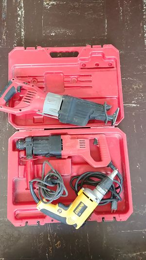 Milwaukee saw. HAMMER DRILL. DEWALT. Screwdrive for Sale in Adelphi, MD