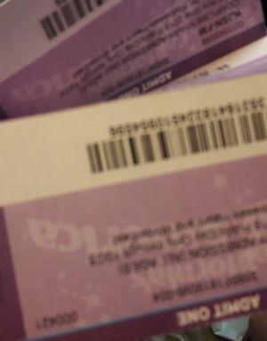 Great America tickets 4 for Sale in Modesto, CA