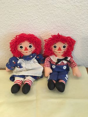 Raggedy Ann and Andy dolls for Sale in Gilbert, AZ