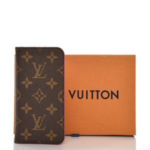 Authentic Louis Vuitton Monogram iPhone X/Xs Folio Wallet Case for Sale in Lake Grove, NY