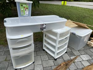 Plastic storage containers drawer for Sale in Fort Lauderdale, FL