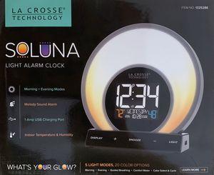 La Crosse Technology Soluna Light Alarm Clock for Sale in Missouri City, TX
