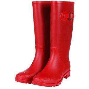 Women's Red Rubber Rain Boot for Sale in Portland, OR