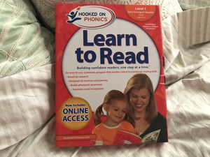 Hooked on phonics — Pre K, Level 1 (includes Online Access!) for Sale in San Francisco, CA