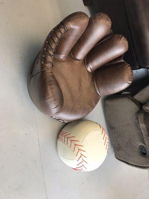 Baseball glove chair for Sale in Norcross, GA