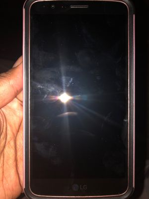 Cricket Lg Stylo 3 pink phone w/ pink case for Sale in Las Vegas, NV
