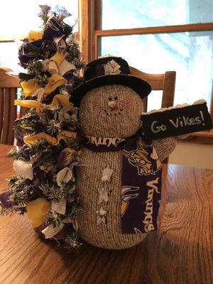 Vikings Snowman for Sale in Bloomington, MN