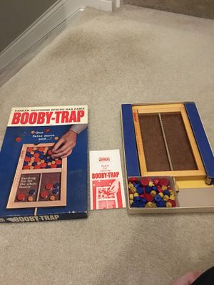 Vintage Booby-Trap Board Game for Sale in Blacklick, OH