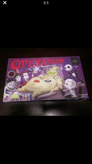 Operation nightmare before Christmas edition rare for Sale in Rancho Cucamonga, CA