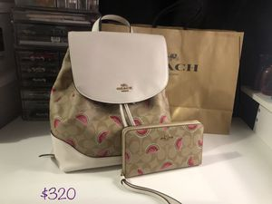 Coach backpack for Sale in Apple Valley, CA