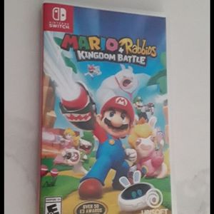 Mario And Rabbits Kingfom Battle Nintendo Switch for Sale in Chandler, AZ