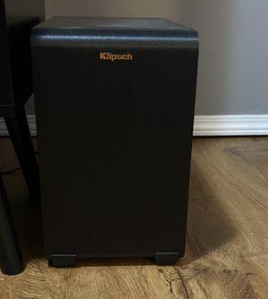 Klipsch Soundbar & Subwoofer for Sale in Fenton, MO